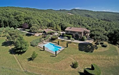Photo for An oasis of peace on an Italian hill. 100% privacy in nature.