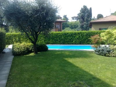 Photo for Brescia, two-room apartment in a quiet residential area, well-serviced, with swimming pool