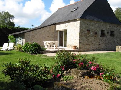 Photo for Charming little independent stone house ★★★, Plouharnel Carnac