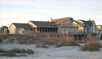 Photo for Classic Beachfront Sullivan's Island Retreat with Pool & Hot Tub