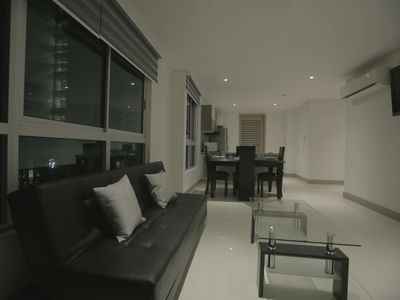 Photo for Beautiful 3 Bedroom Beachfront Apartment