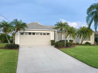 Photo for Southwest FL Getaway Home on Canal with PRIVATE POOL!