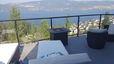 Photo for Lake Front Kelowna Vacation Home-2 Bed & Bath, Swim in Lake, Play in Pool, Relax
