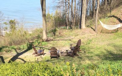 Photo for 2020 Available! Lake Views, Screened Dining Gazebo & Fire Pit Conversation Area