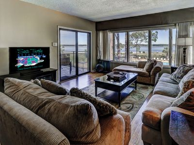 Photo for Beautiful Beachside Villa Overlooking Pool, Sound & Ocean. Walk to Salty Dog!