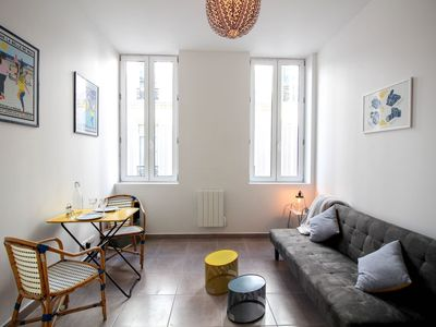 Photo for BEAUTIFUL 30 SQM FLAT IN THE HEART OF MARSEILLE