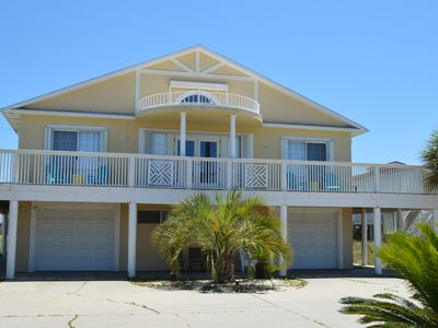 Photo for NEW LISTING!  Island Time on one of the Top 10 Beaches in America!