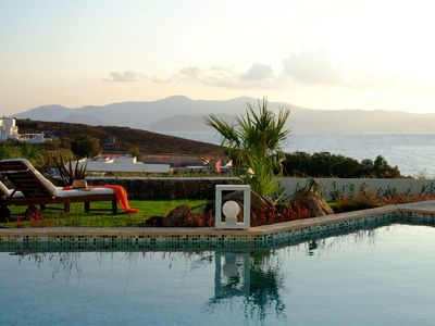 Photo for Villa Olivia Naxos Aegean Island, 3 Bedrooms 3 Bathrooms Private Pool up to 7 Guests for a memorable accommodation experience !