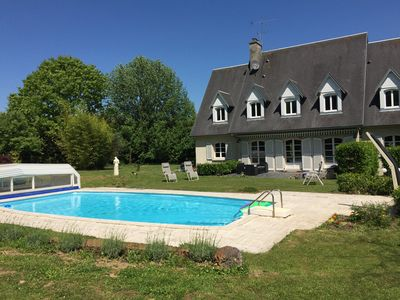 Photo for 5 Beautifully designed en suite rooms, with Swimming Pool & Garden.