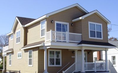 Photo for Beautiful New 4 BR House short walk to Beach and Restaurants and a GREAT BEACH!!