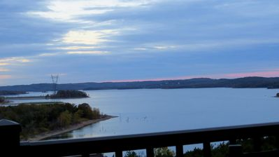 View From the Balcony, Largest Channel of Water on Table Rock Lake!