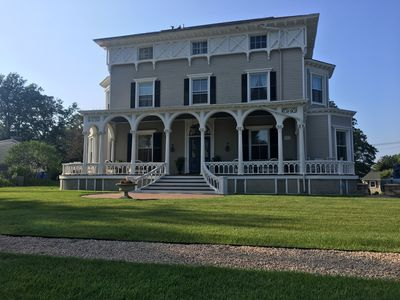 Photo for Historic Mansion Apartment on Newport/Middletown Line Near Mansions & Beaches