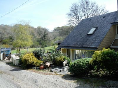 Photo for Spacious Gite Situated In Beautiful Countryside easy walk to Huelgoat village