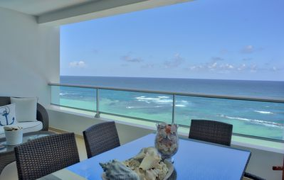 Photo for Fascinating Ocean View Two Bedroom Apartment (707)