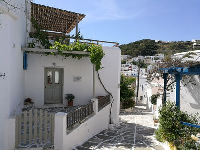 Photo for Anna s Home, Lefkes Paros Greece, 130m2  house in a Cycladic village