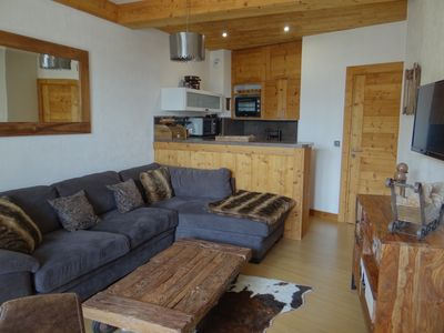 Photo for Very nice apartment 4/6 pers. at the foot of the slopes