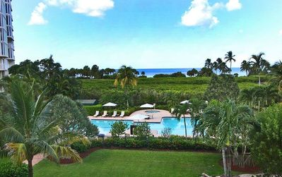 Photo for 3 Bedroom, 2 Bathroom Condo overlooking the Gulf of Mexico - The Club at Naples Cay 104