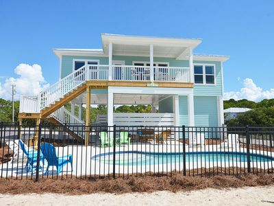 Photo for THE WAIT IS FINALLY OVER! SUMMER SALT is the perfect name for this charming newly built beach home.