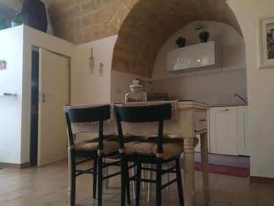 Photo for Holiday Home Cardinal,  apartment  45 sqm  in the heart of the country, in a small street just a short walk from the old town and the sea.