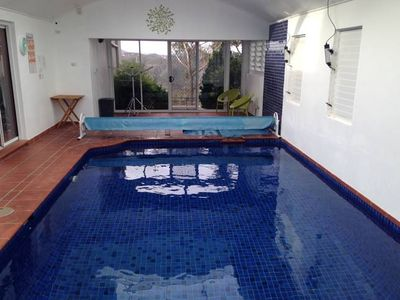 Photo for View 21 - Amazing view with indoor heated swimming pool and spa