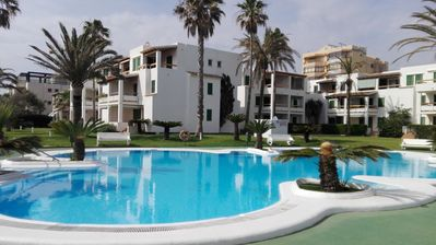 Photo for In beachfront. Apartment in Xeraco