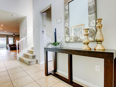 Photo for 5 stars Resort--8 BedRm/6 Bath Lake Front Private Pool-  Just 6 miles  Disney!