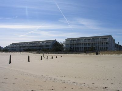 View of Community from Beach