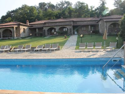 Photo for Arcidosso Cottage Rental consisting of 5 stone bungalows.
