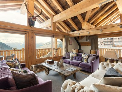 Photo for Chalet Falcon - Fully Catered Luxury Ski Chalet Close To Sainte Foy Slopes