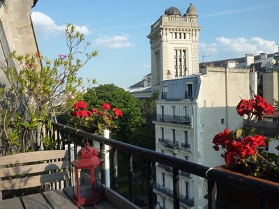 Photo for Center of Paris(close Notre Dame)-Great View-Balcony-6th floor (lift to the 5th)-Wifi high-speed