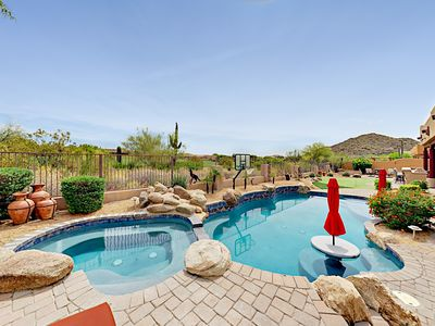 Photo for 4BR Las Sendas Retreat on Golf Course-Private Pool, Fire Pit & Putting Green