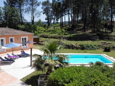 Photo for A villa with a large garden, beautiful view, air conditioning and private pool.