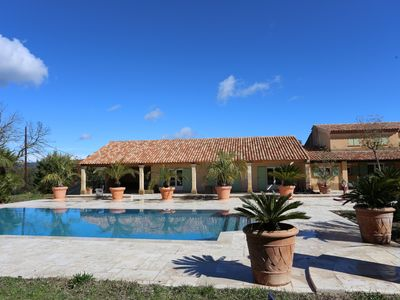 Photo for Saint Tropez holidays family house at the golf course of Saint Tropez