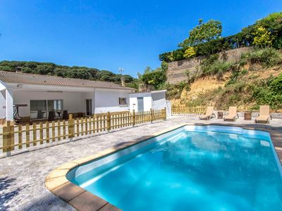 Photo for Country house in Maçanet de la Selva with Internet, Washing machine, Pool, Terrace (997350)
