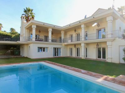 Photo for Sotogrande - A very charming villa in a calm and residential area and nice view.