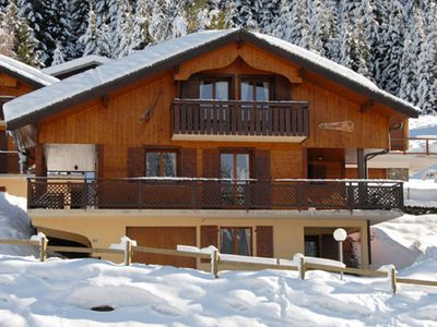 Photo for Superb chalet located ideally between the 2 main lifts