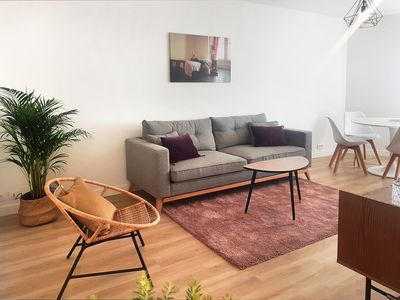 Photo for Refined apartment quiet and downtown !!