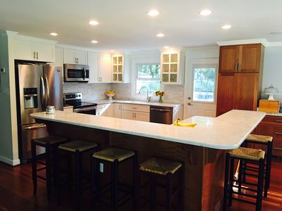 Photo for The Coastie Cottage! 4.5 miles To Downtown Annapolis, Updated,  Heated Pool!