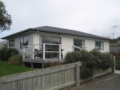 Photo for Kakanui bach with views of the sea