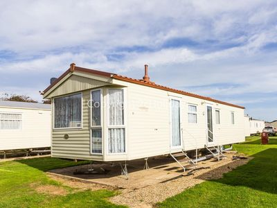 Photo for 6 berth caravan for hire at Broadland sands holiday park in Suffolk ref 20011