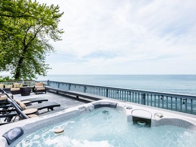 Photo for Lakefront Home with Hot Tub in New Buffalo Close to Everything!