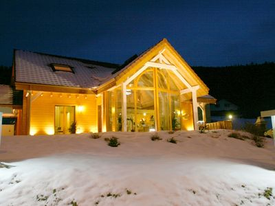 Photo for CHALET DU PONT DES FEES sauna, pool, balneo, good location, lake and ski slopes