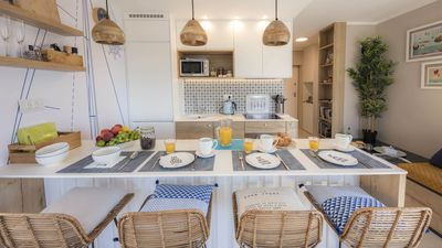 Photo for Lovely Refurbished Seaview Apartment on the island of Losinj, Croatia
