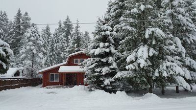 Photo for Mt Rainier Little Lake Cabins, great for two, or great for six, 1500+sq ft.