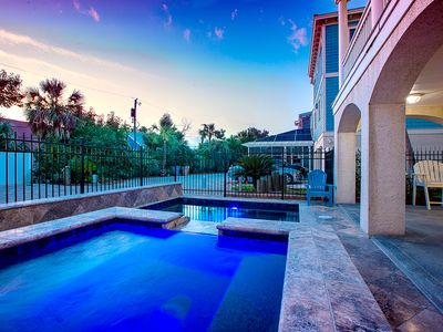 Photo for Heated Pool | Ocean View | High on a Hill | Porches  Pool Table | Fun Estate