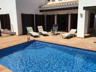 Photo for Beautiful  Villa, Private Pool, 3 Bedrooms, Hot Tub