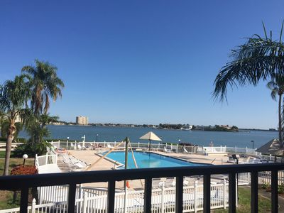 Photo for Beautiful waterfront condo with ocean view from balcony