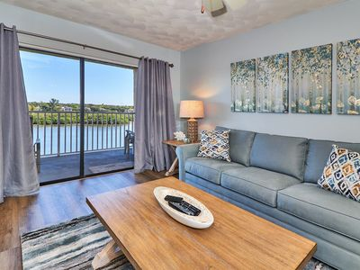 Photo for Free Wi-Fi and High Def. TV - Beautifully Remodeled!! Indian Shores condo with Beautiful Direct Water Views w/ Beach Access across the street!