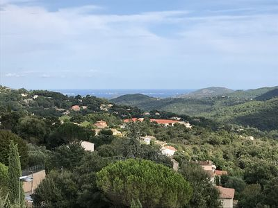 Photo for Villa 150 m², between Cannes and St-Raphael, sea view and Estérel