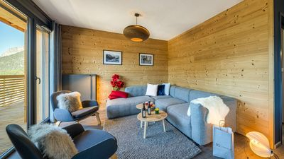 Photo for Magnificent apartment for 8 people, ski-in ski-out and close to the center.